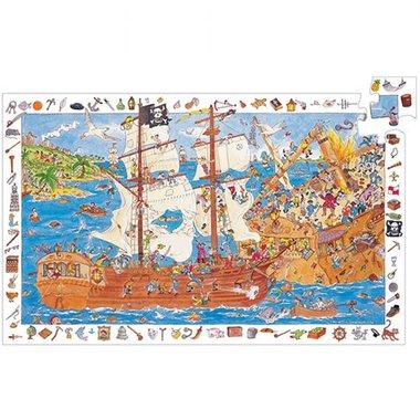 Observatie puzzel piraten (100 st.) / Djeco