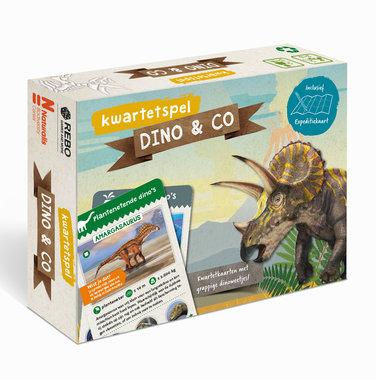 DINO & CO kwartetspel met posterboek / Rebo