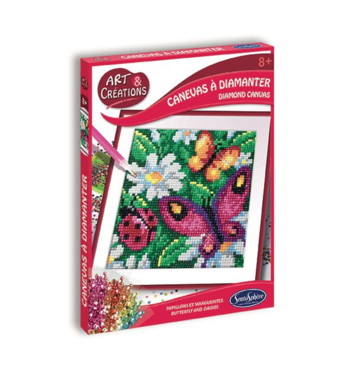 Diamond Canvas Vlinder / Diamond Painting