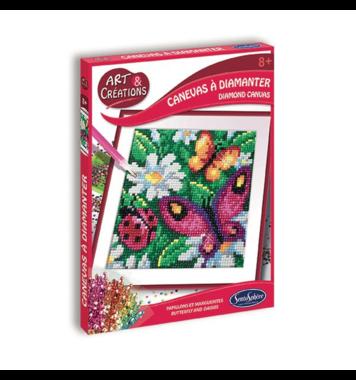 Diamond Canvas Vlinder / Diamond Painting