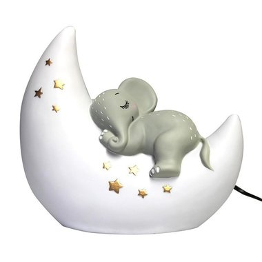 LED lamp Olifant op maan / The House of Disaster