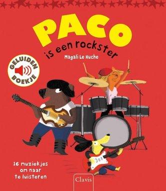 Paco is een rockster (geluidenboek). 3+ / Clavis