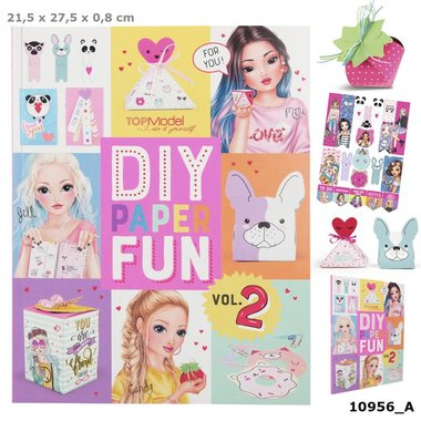 DIY Paper Fun Book / TOPModel