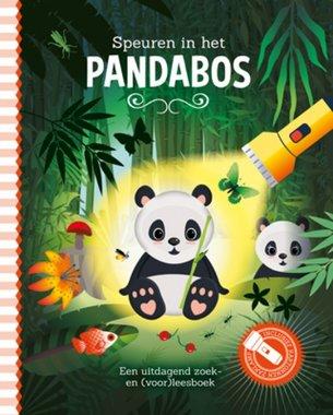 Zaklampboek - Speuren in het pandabos / Lantaarn