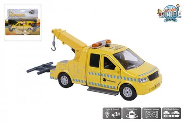 Afsleepwagen/takelwagens (pull back) / Kids Globe