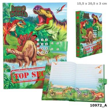 Dagboek Dino World met geheim / DinoWorld