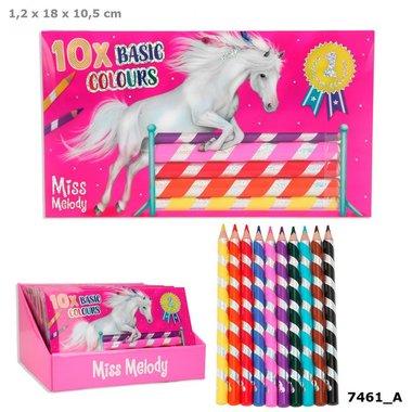 Miss Melody kleurpotloden 10 stuks / TOPModel