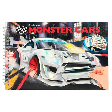 Pocket kleurboek / Monster Cars