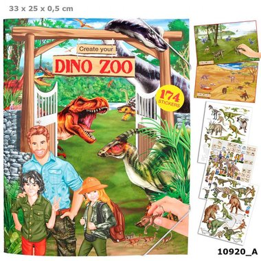Create your Dino zoo / Dino World