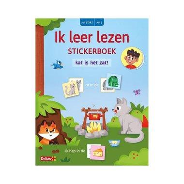Ik leer lezen stickerboek - Kat is het zat (AVI START- AVI 1) / Deltas