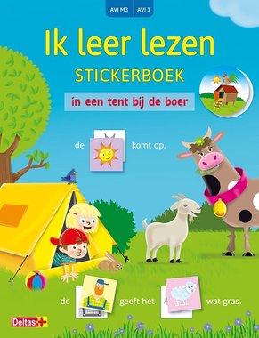 Ik leer lezen Stickerboek - In een tent bij de boer (AVI M3 / AVI 1)) / Deltas