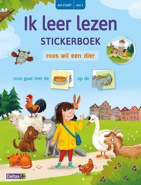 Ik leer lezen Stickerboek Roos wil een dier (AVI START / AVI 1) / Deltas