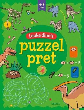 Puzzelpret - Leuke dino's (6-8 jaar) / Deltas