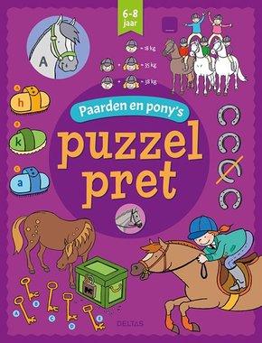 Puzzelpret - Paarden en pony's (6-8 jaar) / Deltas