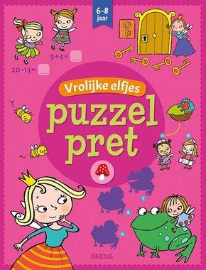 Puzzelpret - Vrolijke elfjes (6-8 jaar) / Deltas