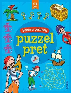 Puzzelpret - Stoere piraten (6-8 jaar) / Deltas