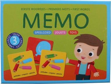 Memo Eerste Woordjes Speelgoed / Deltas