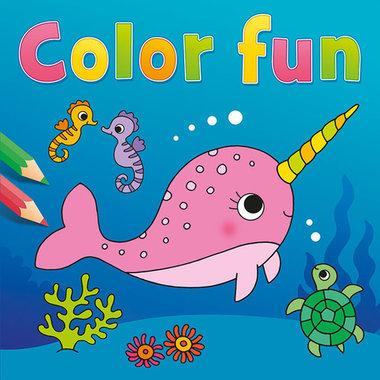 Kleurboek Narwal Color Fun / Deltas