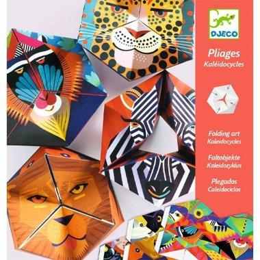 Origami dierenkoppen Caleidocycli / Djeco