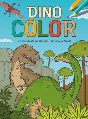 Kleurboek Dino Color / Deltas