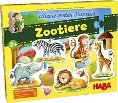 Mijn eerste puzzels - Zoodieren / HABA