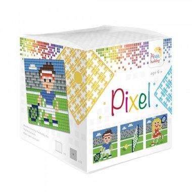 Pixel kubus set Tennis/ Pixelhobby