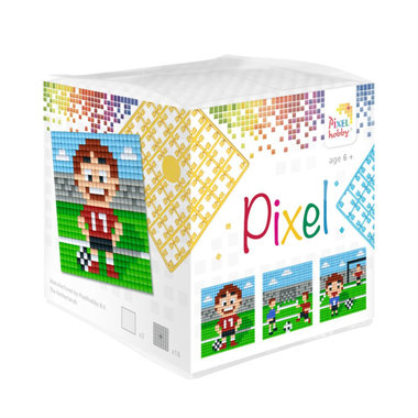 Pixel kubus set Voetbal/ Pixelhobby