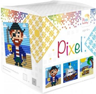 Pixel kubus set Piraat/ Pixelhobby