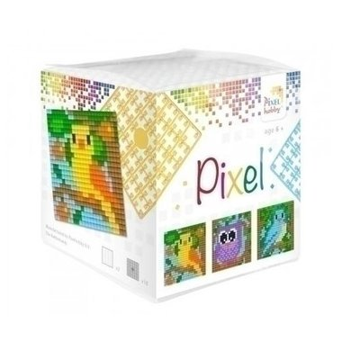 Pixel kubus set Vogels/ Pixelhobby
