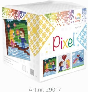 Pixel kubus set Love/ Pixelhobby