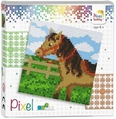 Pixel set Paard/ Pixelhobby