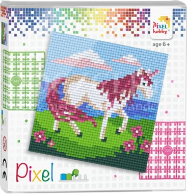 Pixel set Eenhoorn/ Pixelhobby