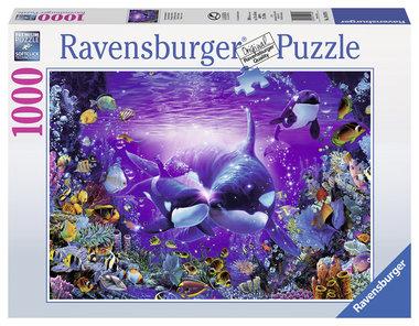 Schitterende passage puzzel (1000 st) / Ravensburger