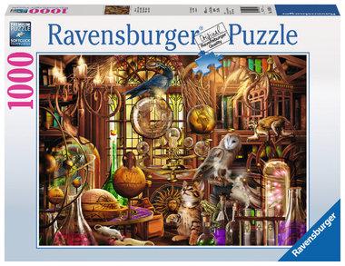 Merlijns laboratorium puzzel (1000 st) / Ravensburger