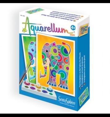 Schilderset aquarelverf Olifanten / Aquarellum