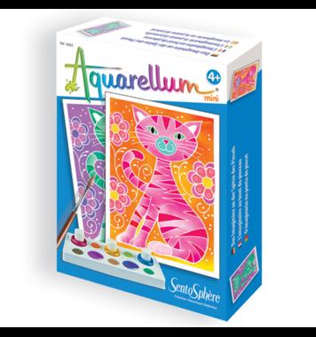 Schilderset aquarelverf Katten / Aquarellum