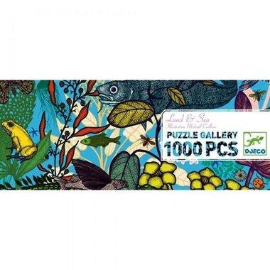 Puzzel Land en zee (1000 st) / Djeco