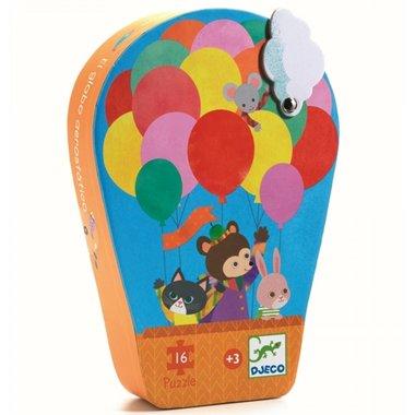 Puzzel Luchtballon (16 st) / Djeco