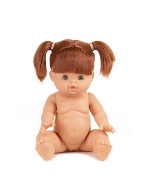 Pop Gordi meisje blank rood haar met staartjes / Paola Reina