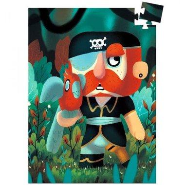 Mini puzzel Piraat Sam Parrot (60 st) / Djeco