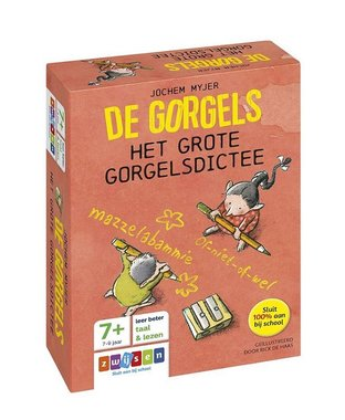 De Gorgels het grote Gorgelsdictee 7+ / Zwijsen