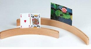 Kaarthouder hout 35 cm / Longfield Games