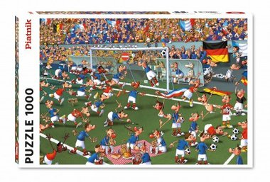 Voetbal puzzel (1000 st) / Francois Ruyer