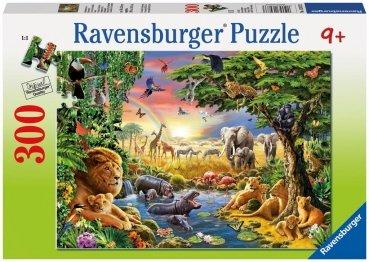 Avondzon bij de dinkplaats puzzel (300 XXL) / Ravensburger