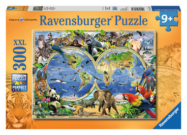 World of wildlife puzzel (300 XXL) / Ravensburger
