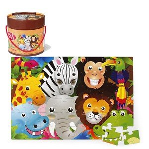 Vloerpuzzel jungle (48 st) / Simply for Kids