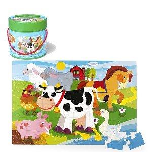 Vloerpuzzel boerderij (48 st) / Simply for Kids