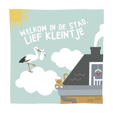 Knisperboekje Welkom in de stad, lief kleintje / WPG