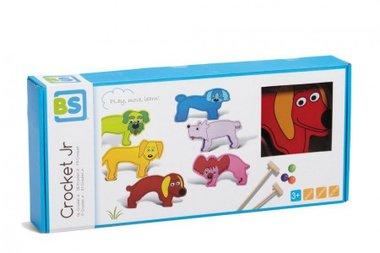 Houten Crocket voor kinderen (Jr.) / BS Toys