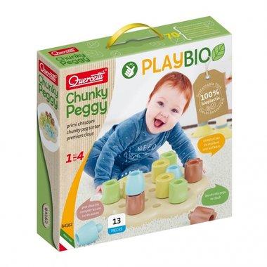 Play Bio - Chunky pegs (13-delig) / Quercetti